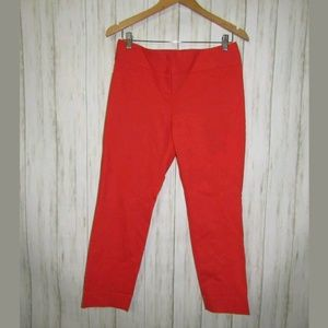 6 The Limited Exact Stretch Straight Crop Pants